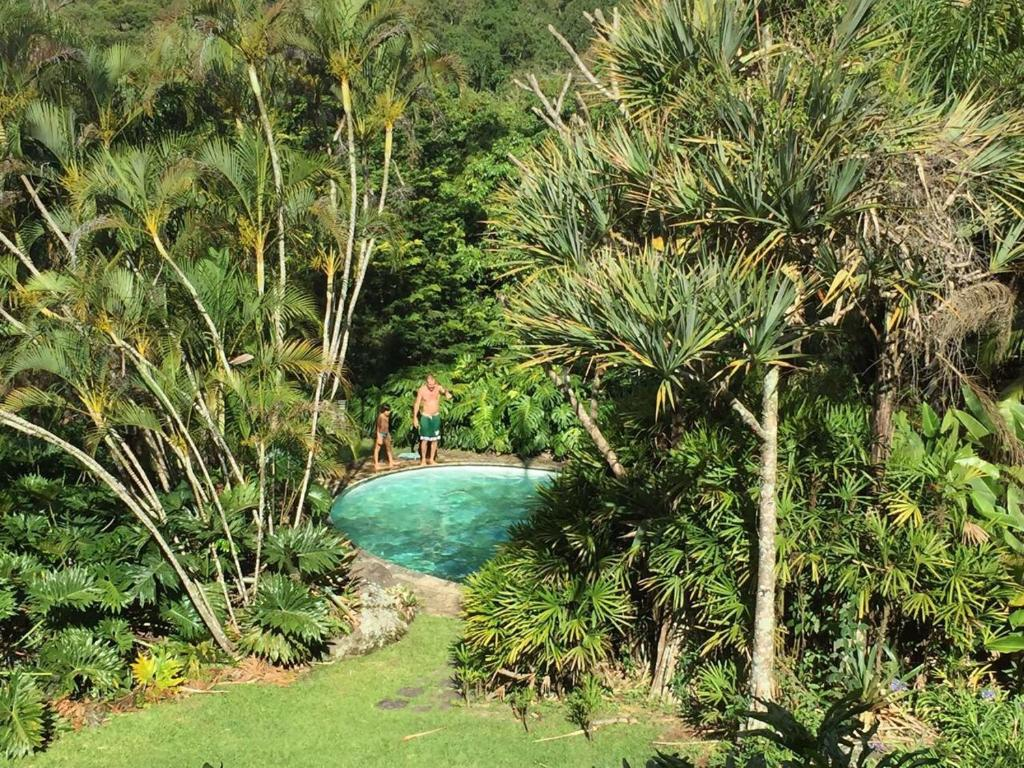 A view of the pool at Casa Catherine or nearby