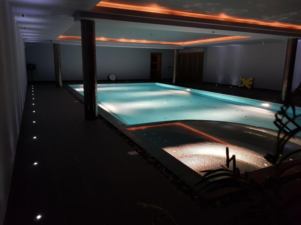 The swimming pool at or near Fab View