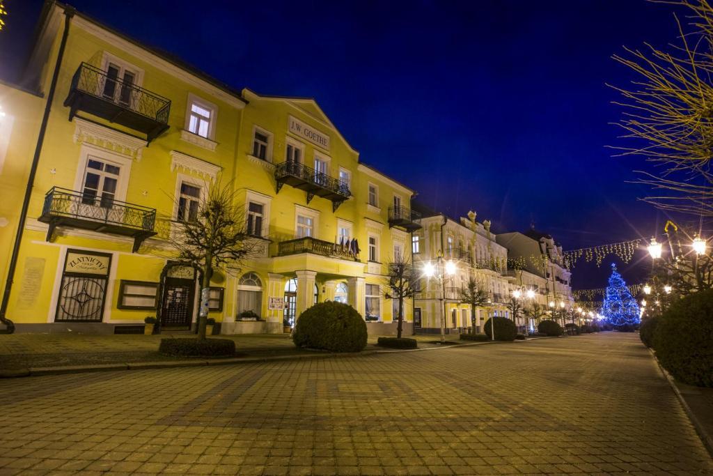 Spa Hotel Goethe Frantiskovy Lazne, Czech Republic