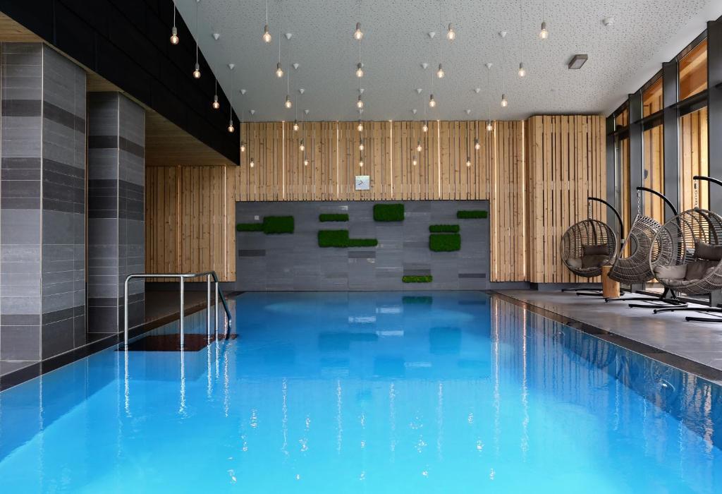 Der Swimmingpool an oder in der Nähe von Villa Silva - Oberhof