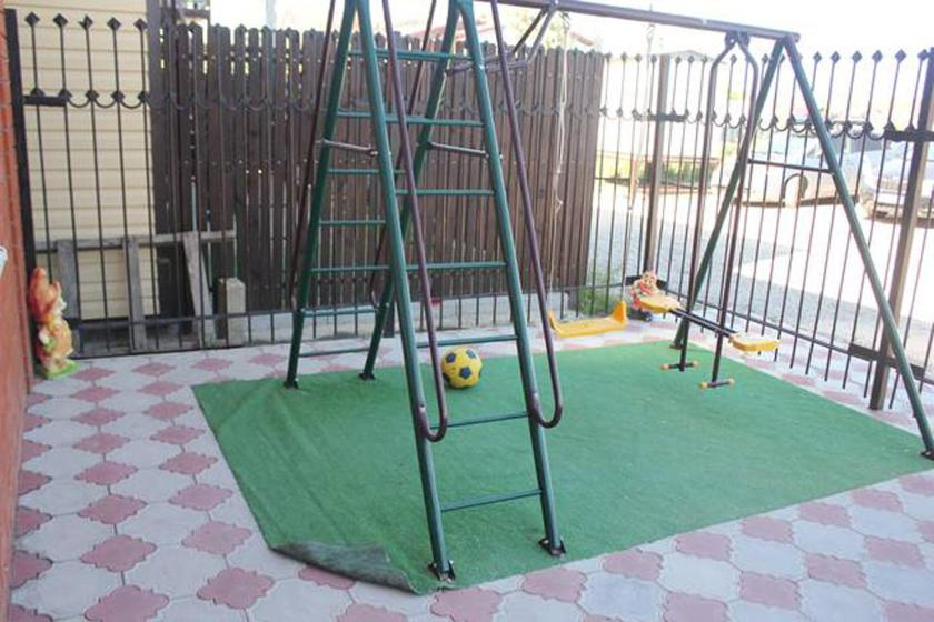 Children's play area at «Домашний уют»