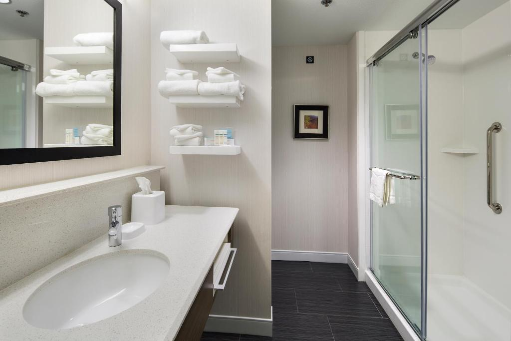 A bathroom at Hampton Inn & Suites Page - Lake Powell
