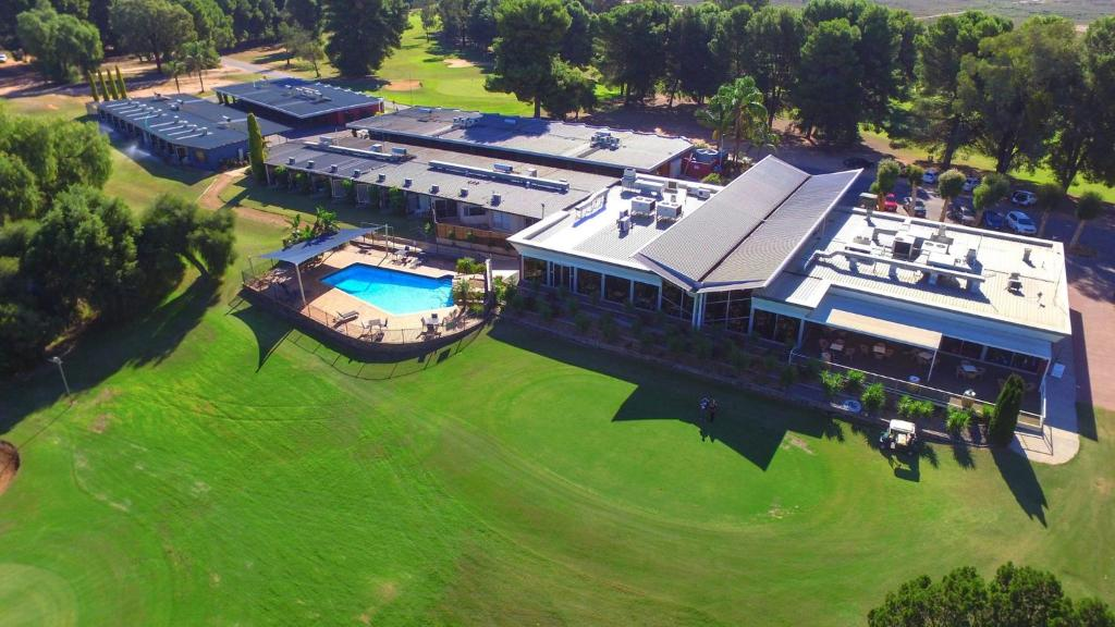 A bird's-eye view of Renmark Country Club