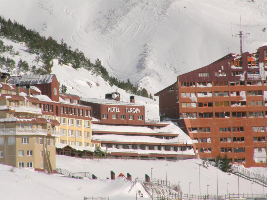 Hotel Europa en invierno