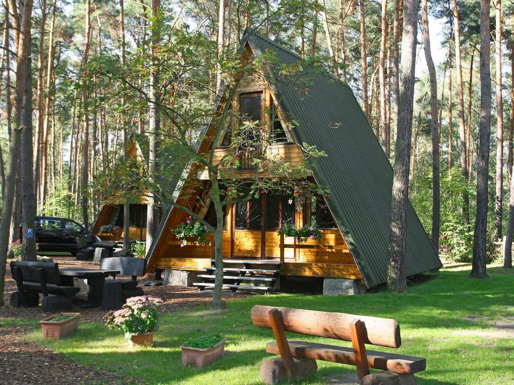 Ein Garten an der Unterkunft Chalet Nepumuk-1