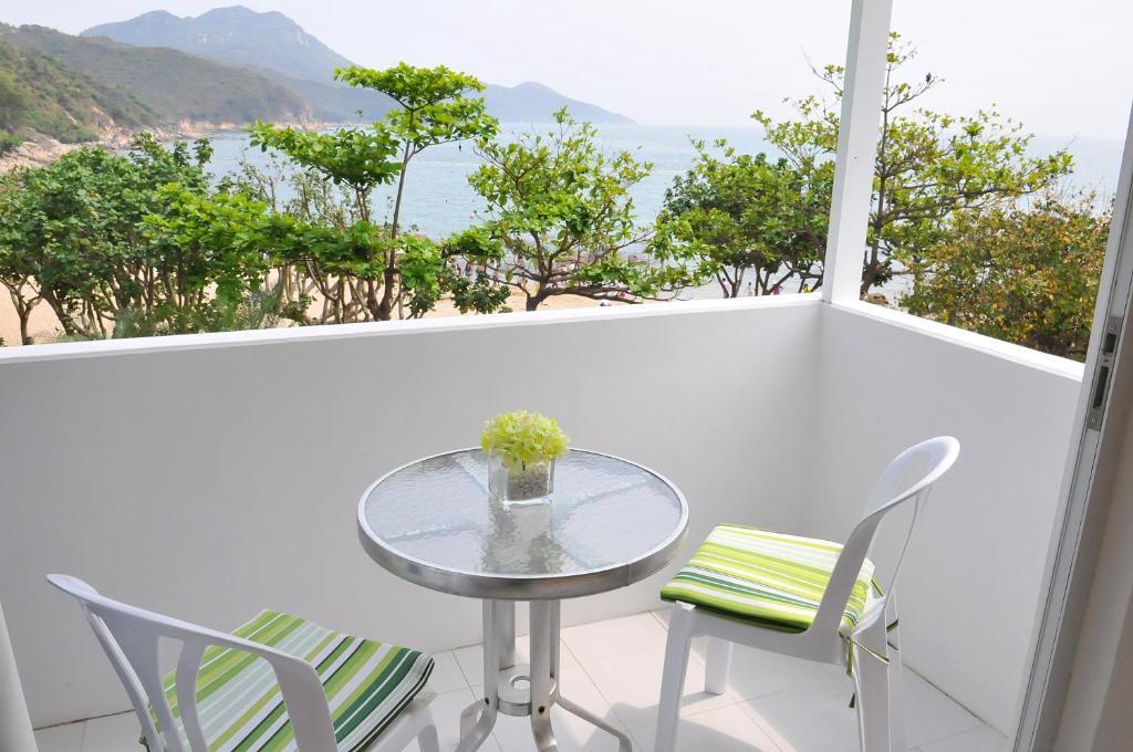 Ein Balkon oder eine Terrasse in der Unterkunft Concerto Inn