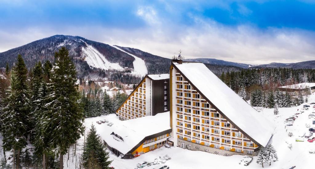 OREA Resort Sklář Harrachov during the winter