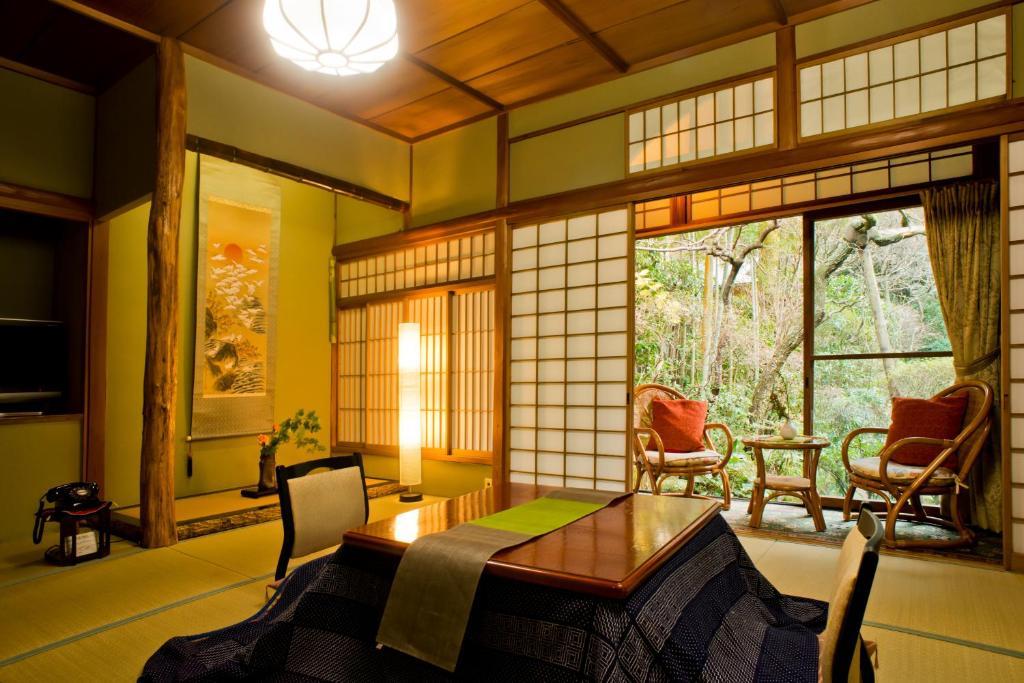 Coin salon dans l'établissement Yamagaso