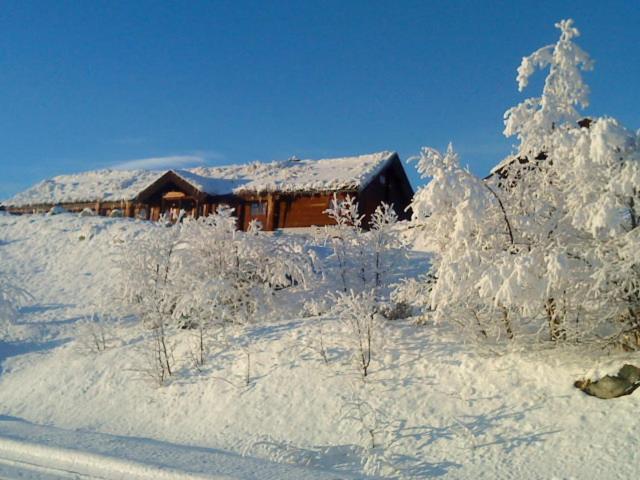 Hakkesetstølen Hytter during the winter