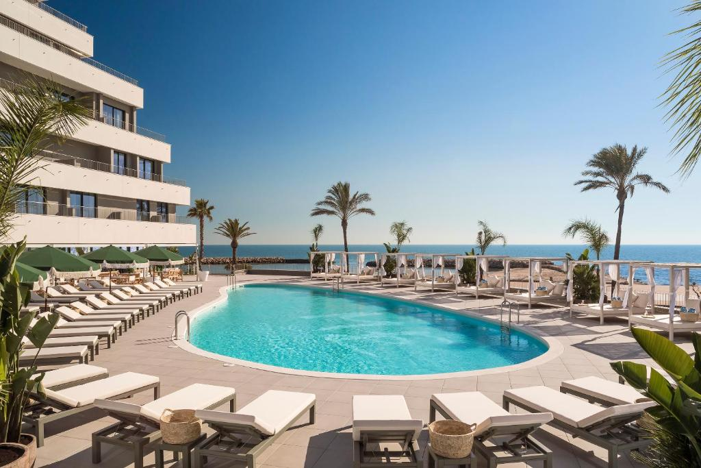 The swimming pool at or close to ME Sitges Terramar
