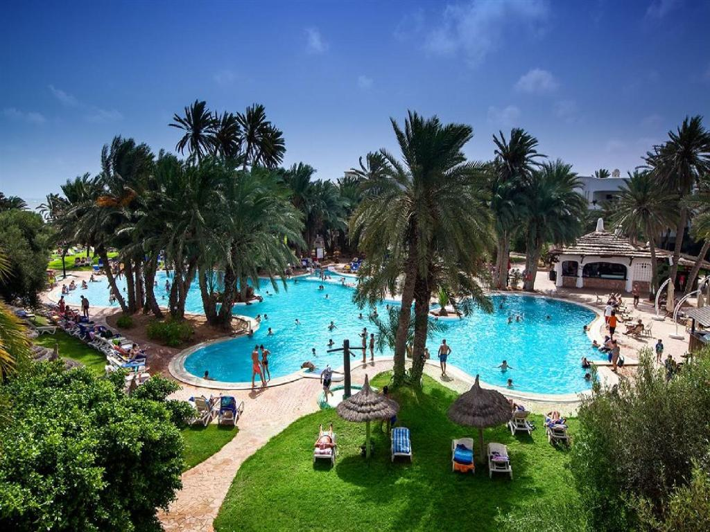 A view of the pool at Odyssée Resort and Thalasso - All Inclusive or nearby