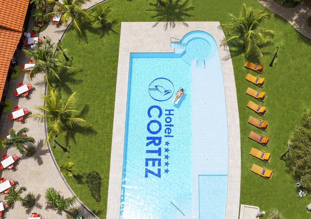 A view of the pool at Hotel Cortez or nearby