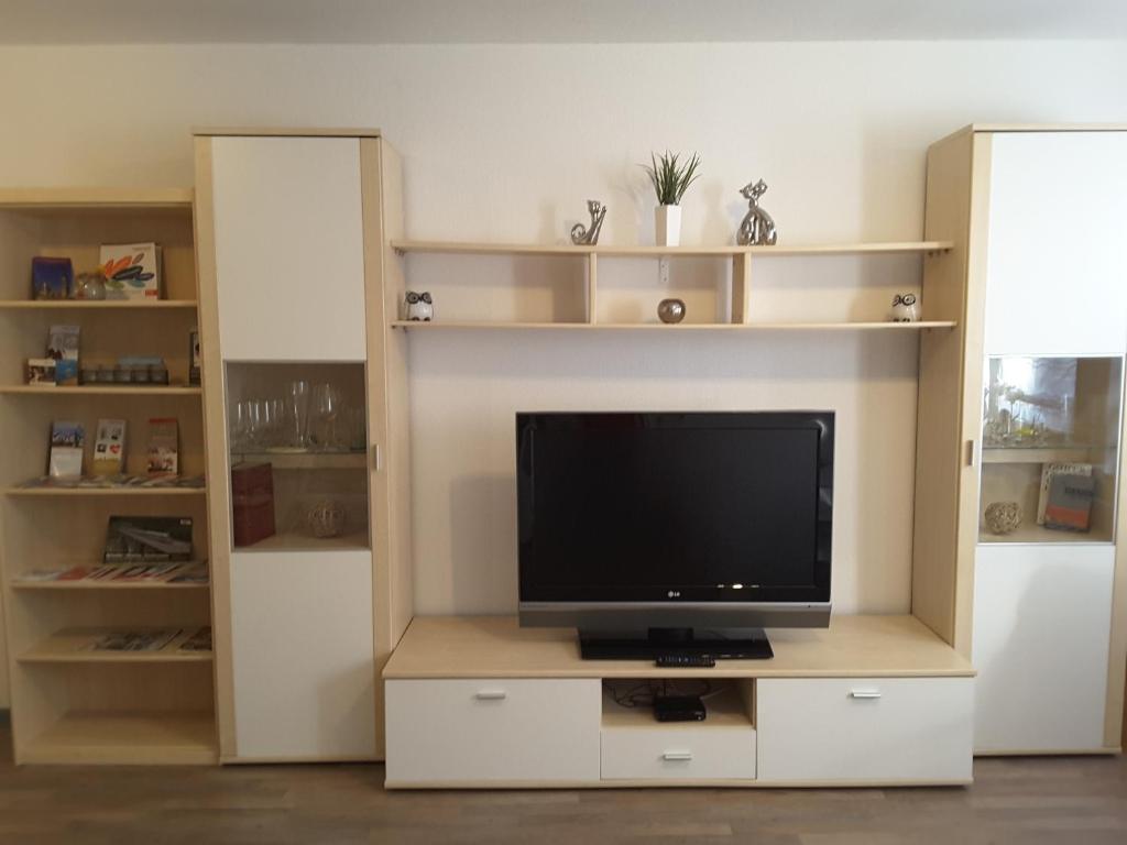 TV/Unterhaltungsangebot in der Unterkunft Ferienwohnung im Paulusviertel