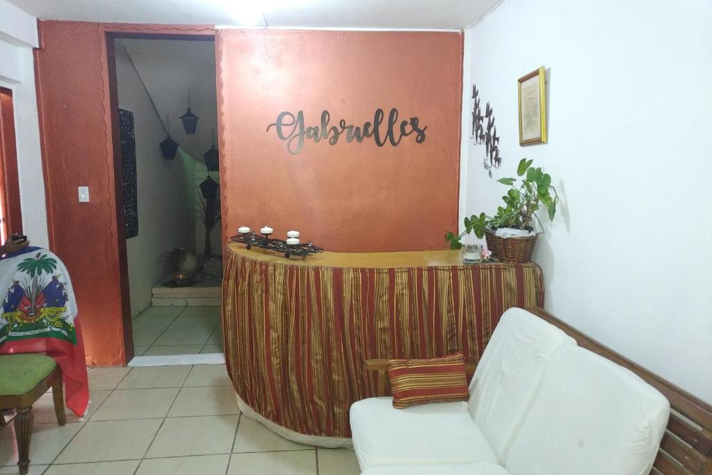 The lobby or reception area at Gabrielle's