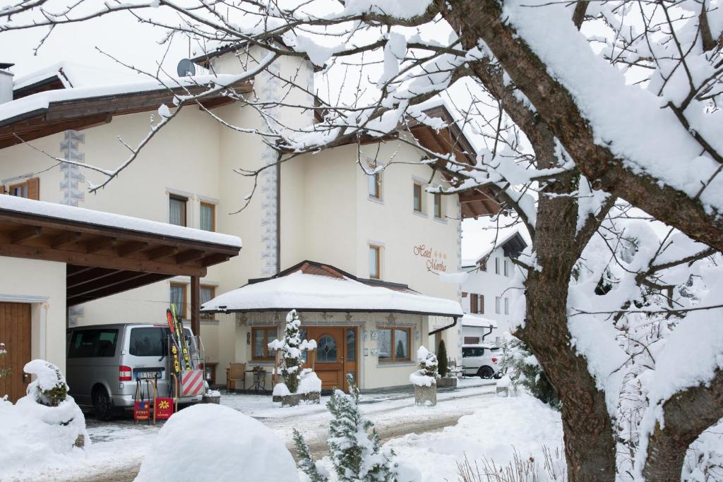Hotel Martha durante l'inverno
