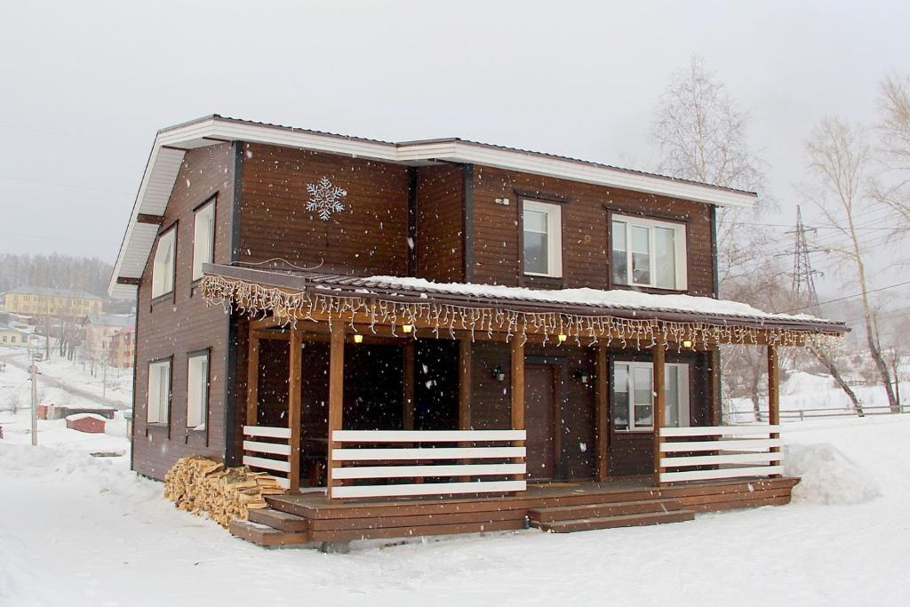 Старый Шерегеш зимой