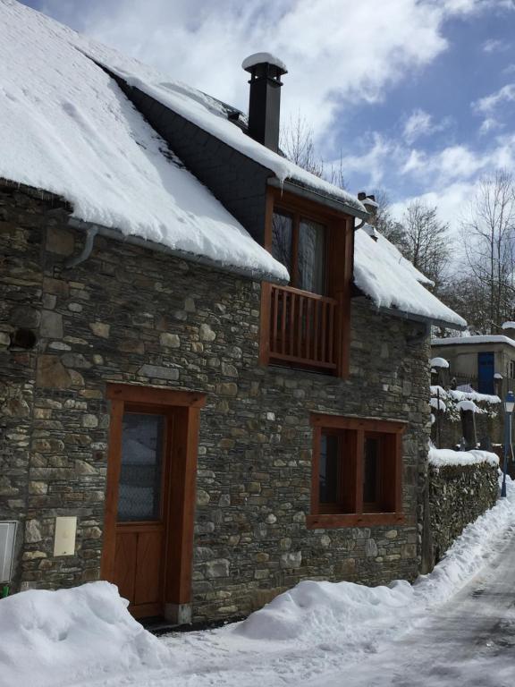 Chez Pépé during the winter