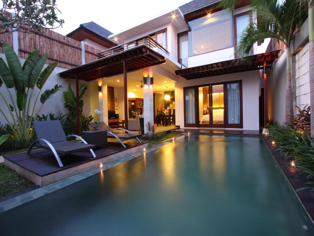 The swimming pool at or near Grania Bali Villas
