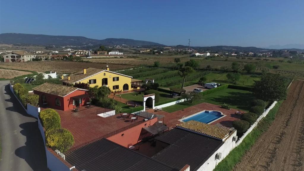A bird's-eye view of Hotel Rural Cal Ruget