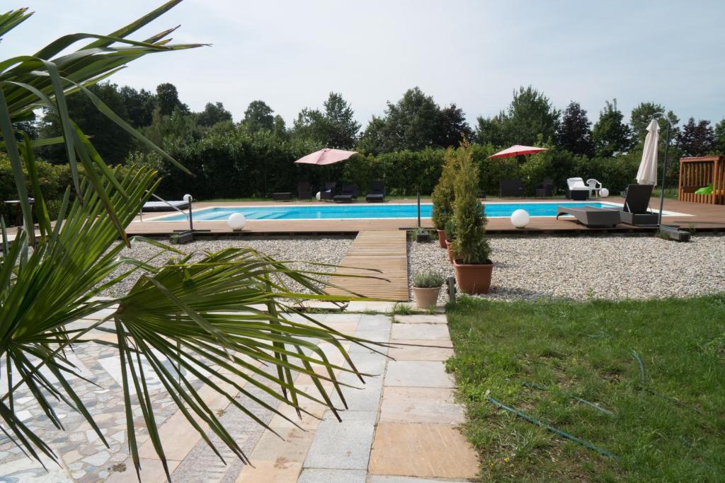 Der Swimmingpool an oder in der Nähe von Gestüt Kaiserhof