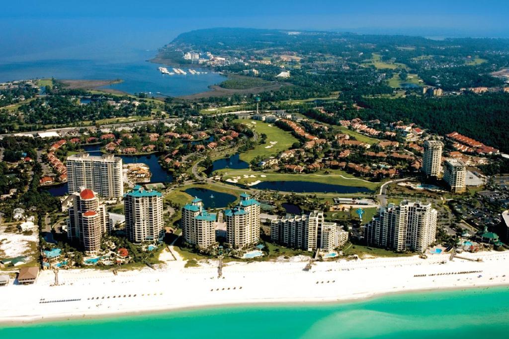 A bird's-eye view of Sandestin Golf and Beach Resort