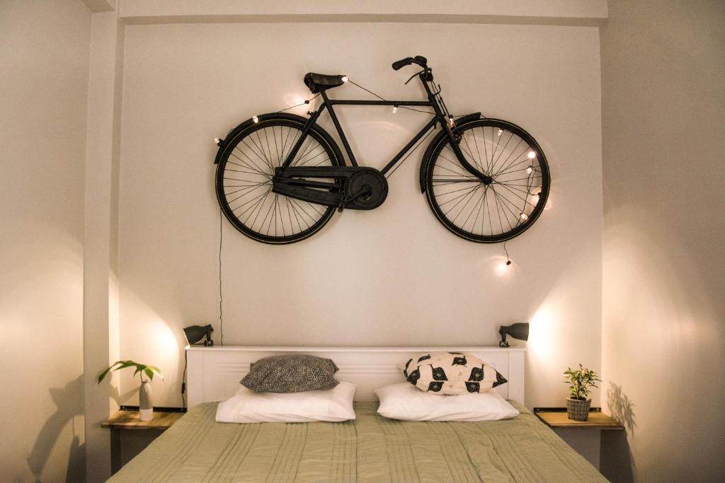 Кровать или кровати в номере Jungle Soul