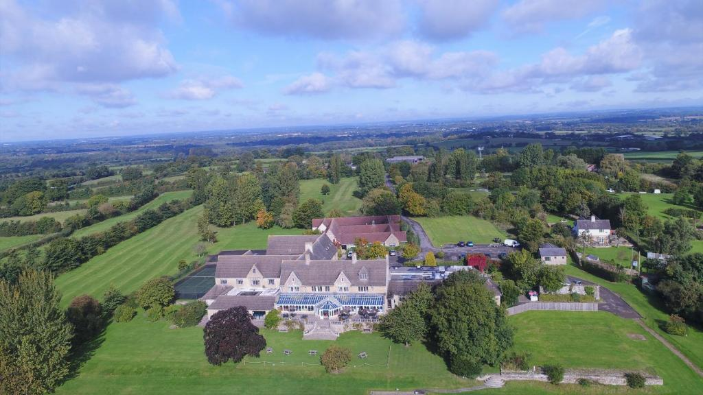 A bird's-eye view of Cricklade House Hotel, Sure Hotel Collection by Best Western