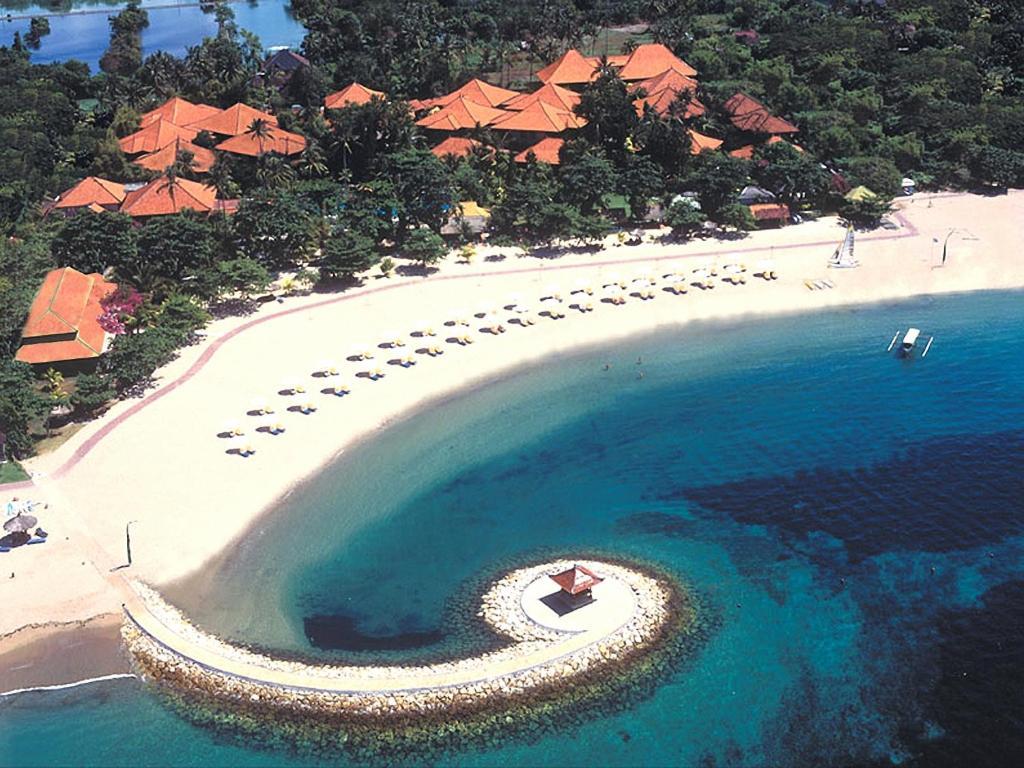 A bird's-eye view of Bali Tropic Resort & Spa