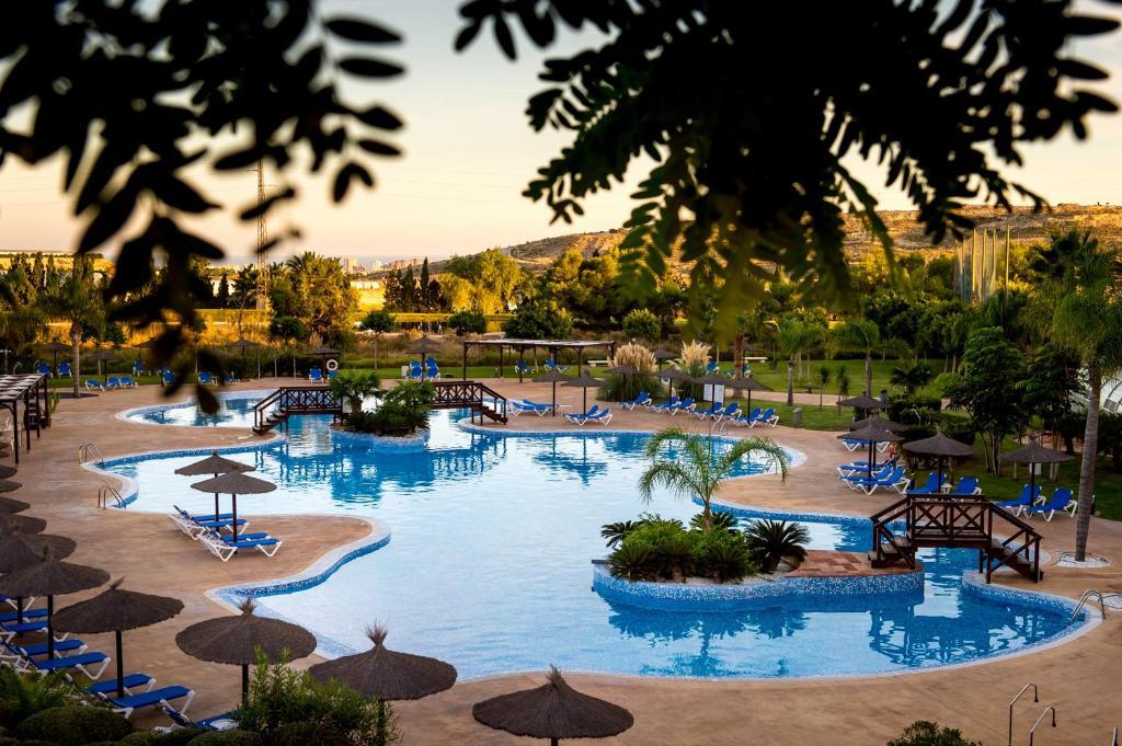 The swimming pool at or near Sercotel Hotel Bonalba Alicante 4*S