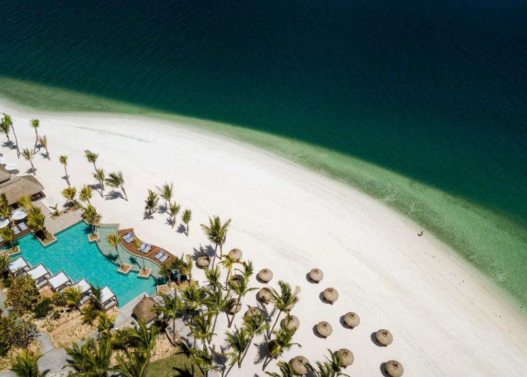 A bird's-eye view of One&Only Le Saint Géran, Mauritius