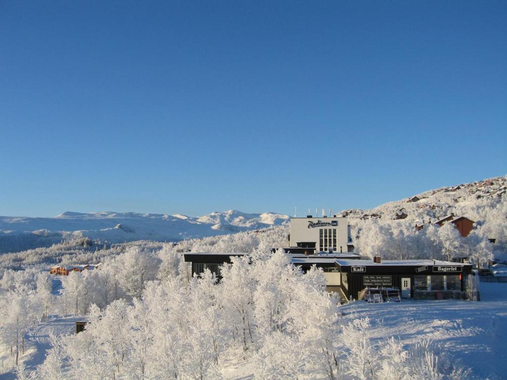 Radisson Blu Resort, Beitostølen during the winter
