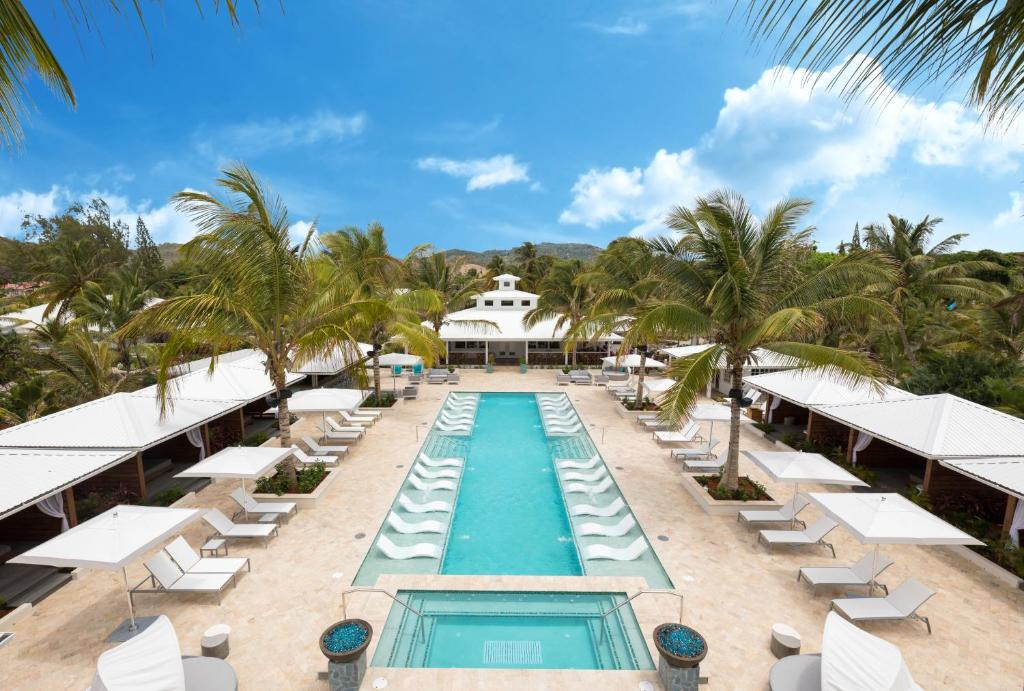 A view of the pool at Serenity at Coconut Bay - All Inclusive or nearby