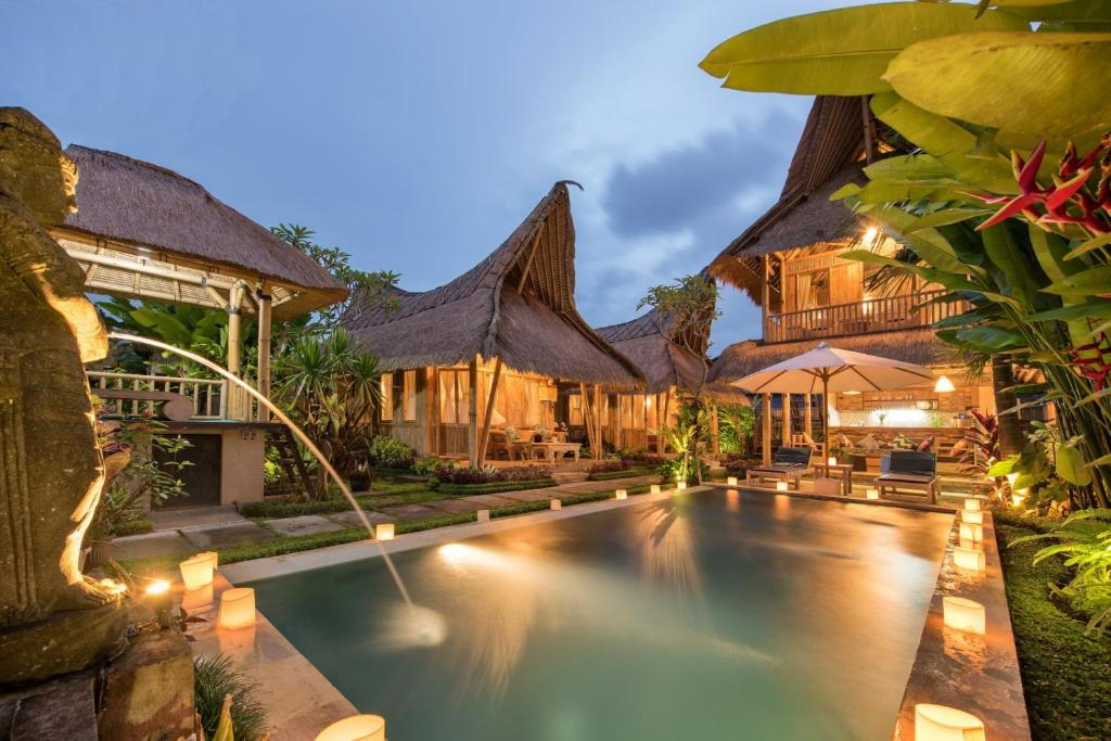 Laksmi Tropical Bamboo Villa Ubud Indonesia Booking Com