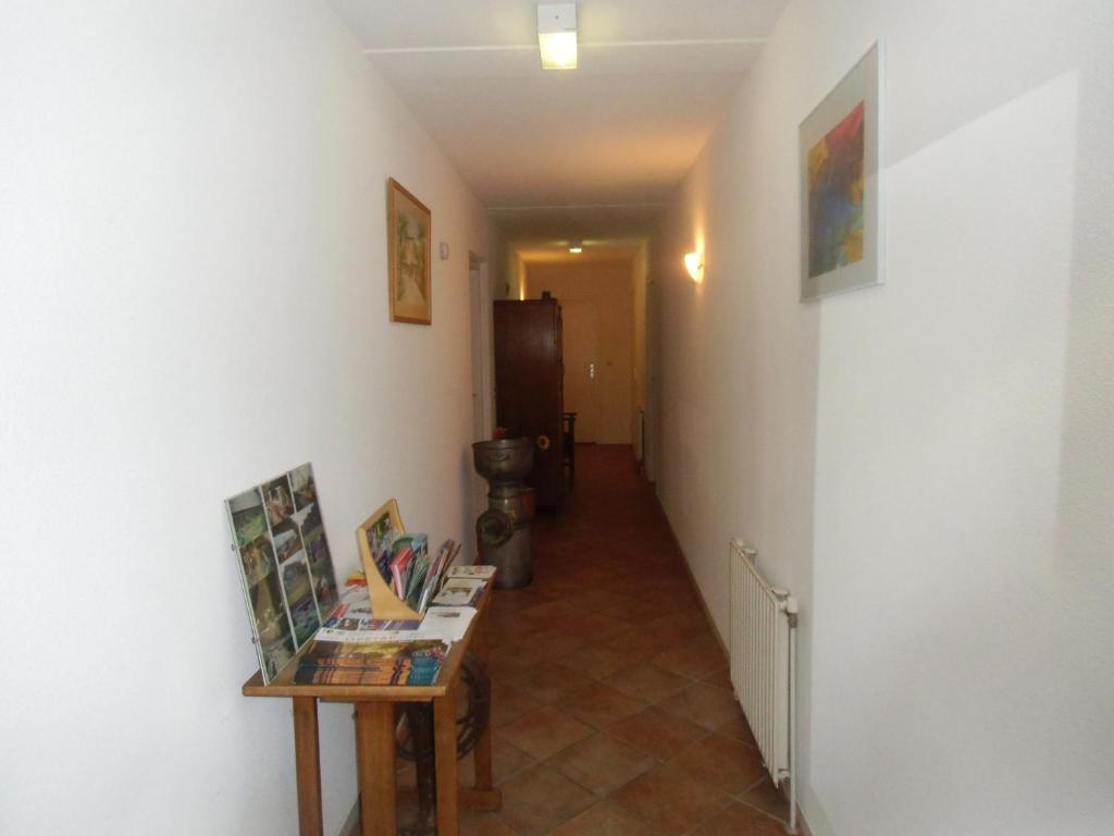 Een zitgedeelte bij Scheibershof appartementenverhuur