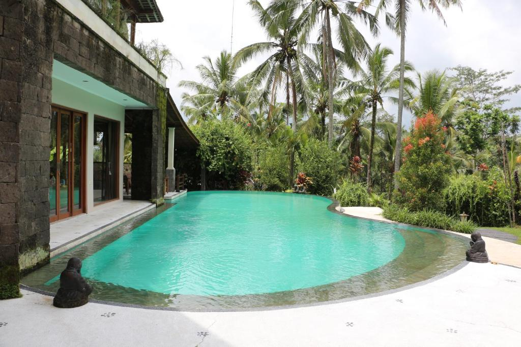 The swimming pool at or near The Alise Villa