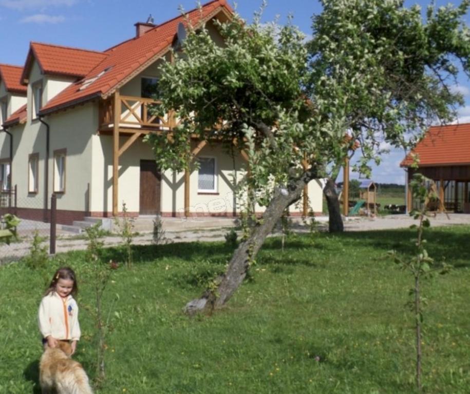 Сад в Eko Zagroda Bocianie Gniazdo