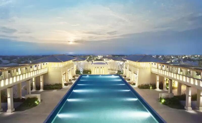 The swimming pool at or near Yun Dan Fu Villa