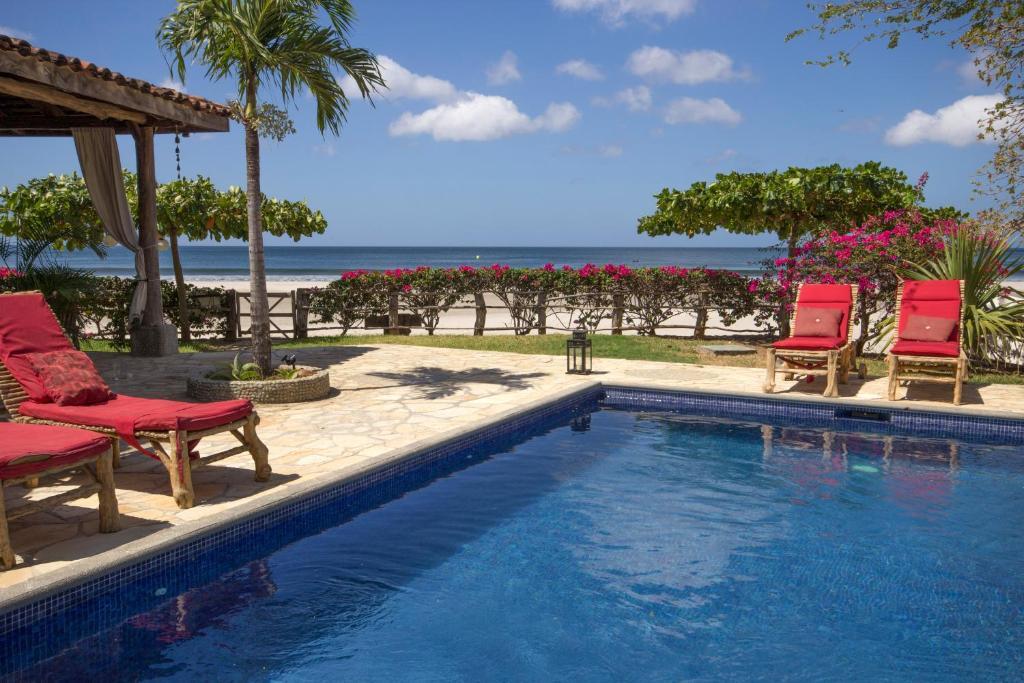 The swimming pool at or near La Veranera, Playa El Coco