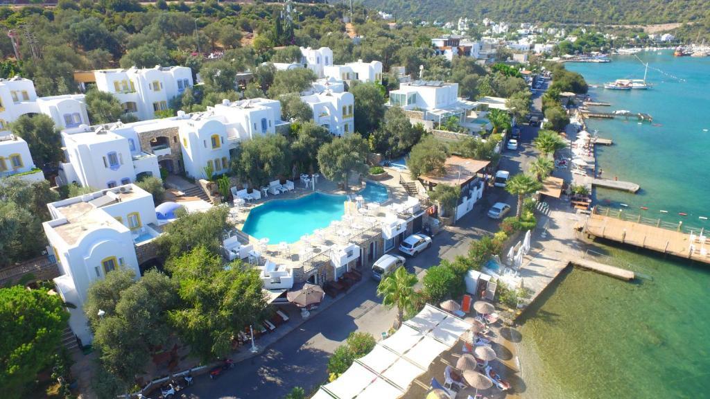 Omar Hotel с высоты птичьего полета