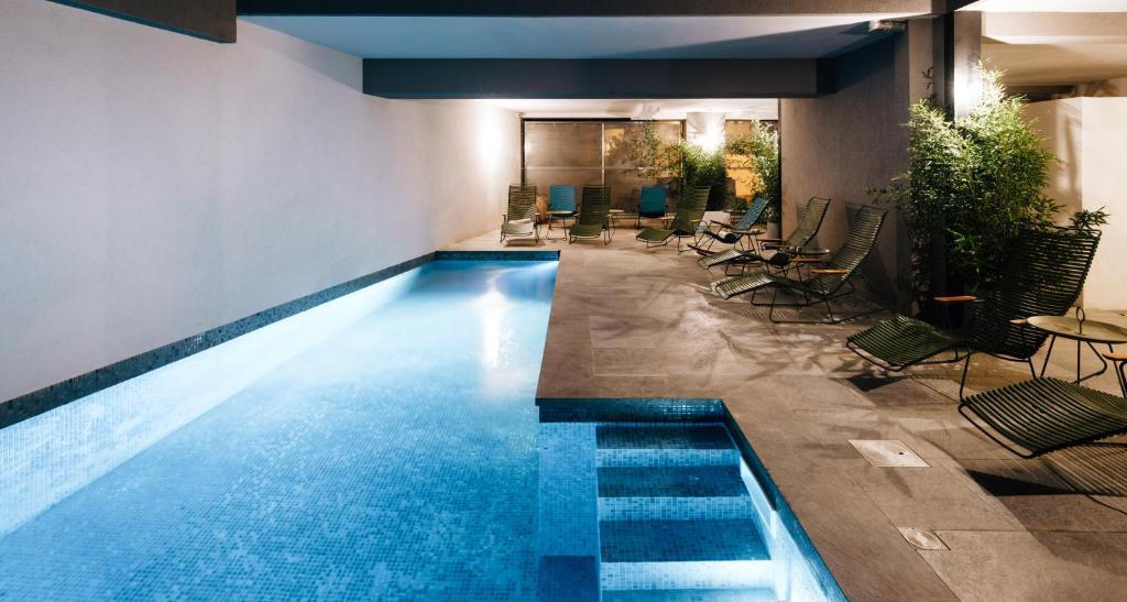 The swimming pool at or near Citta di Lume