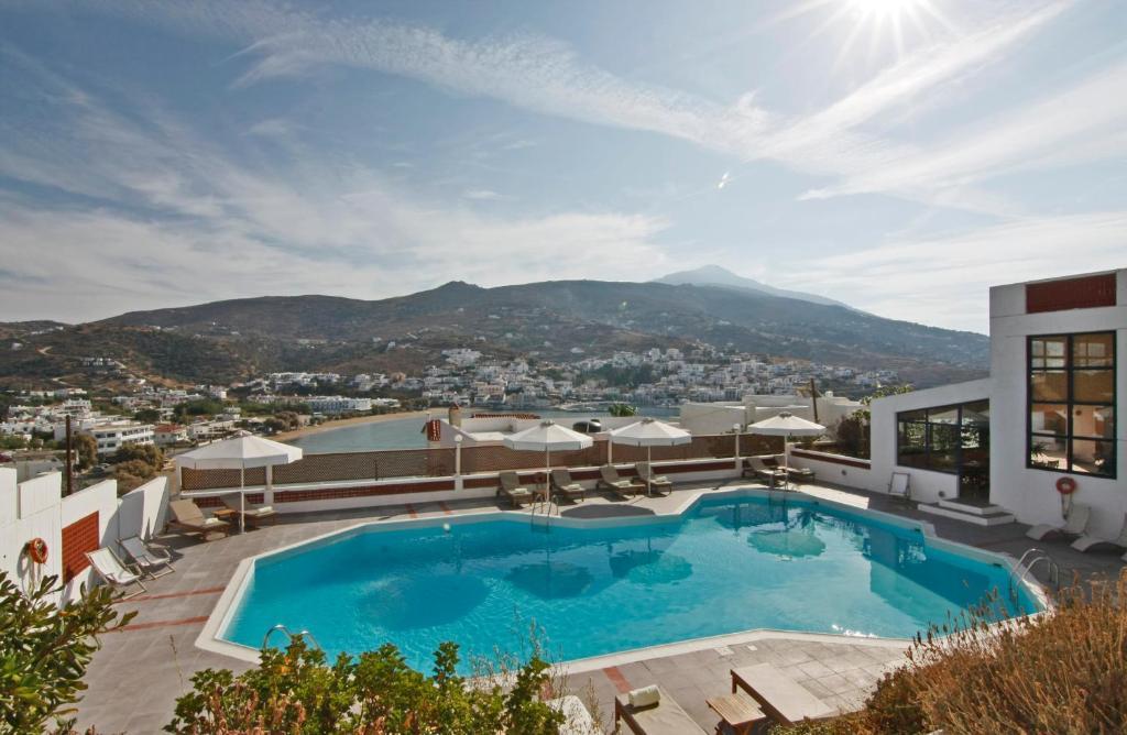 Πισίνα στο ή κοντά στο Mare Vista Hotel - Epaminondas