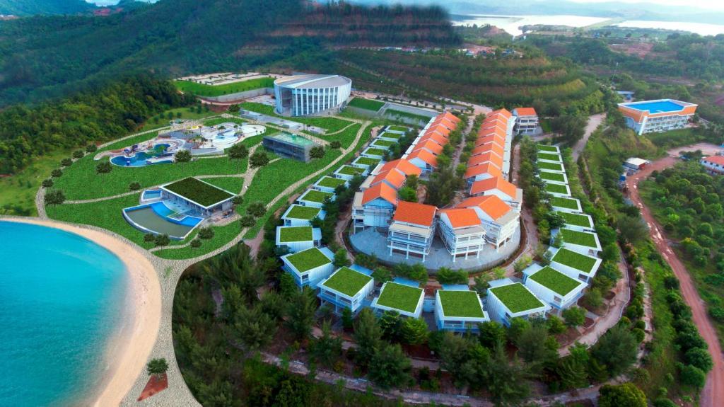 A bird's-eye view of HARRIS Resort Barelang Batam