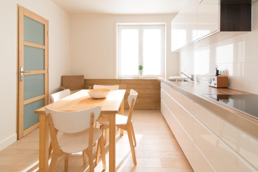 Een keuken of kitchenette bij Duplex