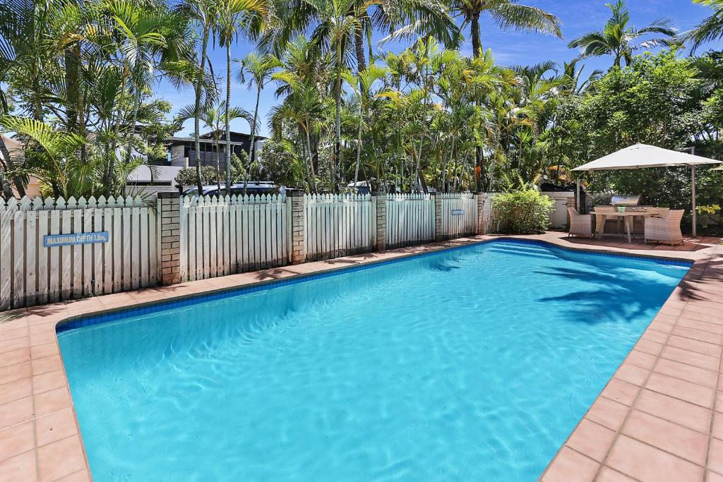 The swimming pool at or near HighTide On Noosa Sound