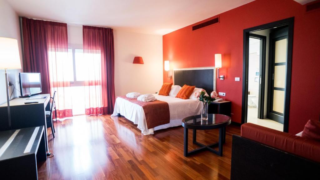 Area soggiorno di Plaza Hotel Catania