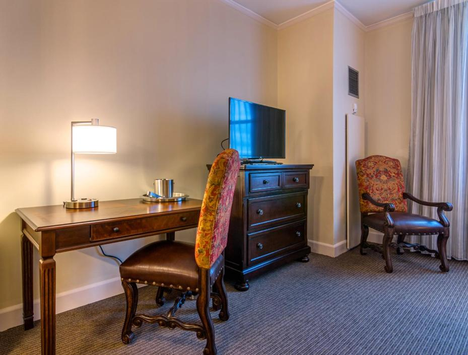 A television and/or entertainment center at Hotel Bentley