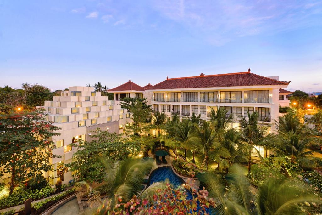 A view of the pool at Bali Nusa Dua Hotel or nearby