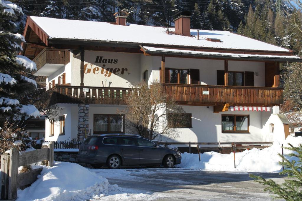 Haus Geiger im Winter