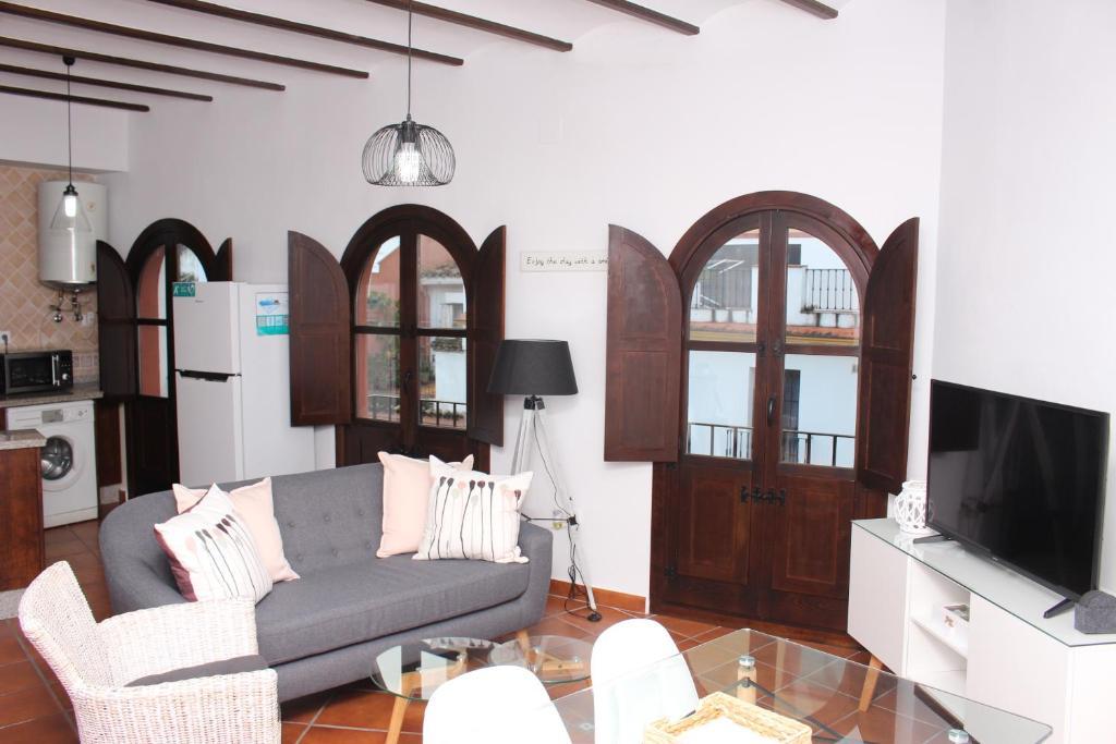Zona de estar de El Capricho de San Fernando, Consigna gratis y Parking a 200mts
