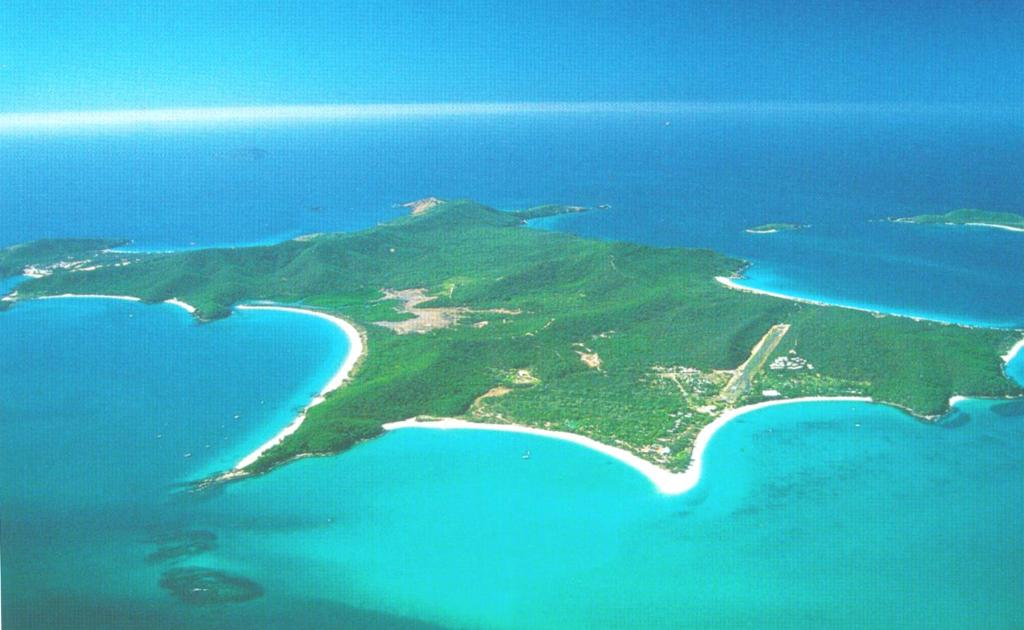 A bird's-eye view of Great Keppel Island Holiday Village